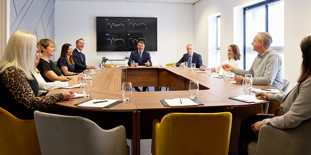 Our Conference Room is beautifully light, modern and spacious and offers the perfect, adaptive space for your meetings and events. Whether you require a typical boardroom layout or a seminar style, we can tailor the room to your needs.